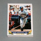1993 TOPPS BASEBALL - Seattle Mariners True Team Set with Traded Series
