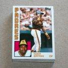 1984 TOPPS BASEBALL - San Diego Padres Team Set + Traded Series