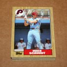 1987 TOPPS BASEBALL - Philadelphia Phillies Team Set