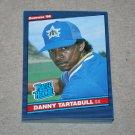 1986 DONRUSS BASEBALL - Seattle Mariners Team Set