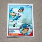 1983 TOPPS BASEBALL - Texas Rangers Team Set + Traded Series
