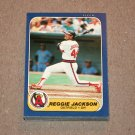 1986 FLEER BASEBALL - California Angels Team Set