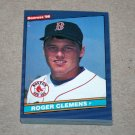 1986 DONRUSS BASEBALL - Boston Red Sox Team Set