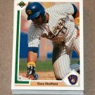 1991 UPPER DECK BASEBALL - Milwaukee Brewers True Team Set (Low/High/Final)