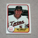 1981 FLEER BASEBALL - Minnesota Twins Team Set