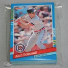 1991 DONRUSS BASEBALL - Detroit Tigers Team Set