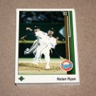 1989 UPPER DECK BASEBALL - Houston Astros Team Set + High Number Series