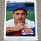 1992 UPPER DECK BASEBALL - Texas Rangers Team Set + High Number Series