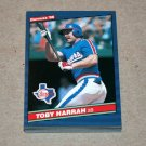 1986 DONRUSS BASEBALL - Texas Rangers Team Set