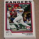2004 TOPPS BASEBALL - Texas Rangers Team Set (Series 1 & 2)