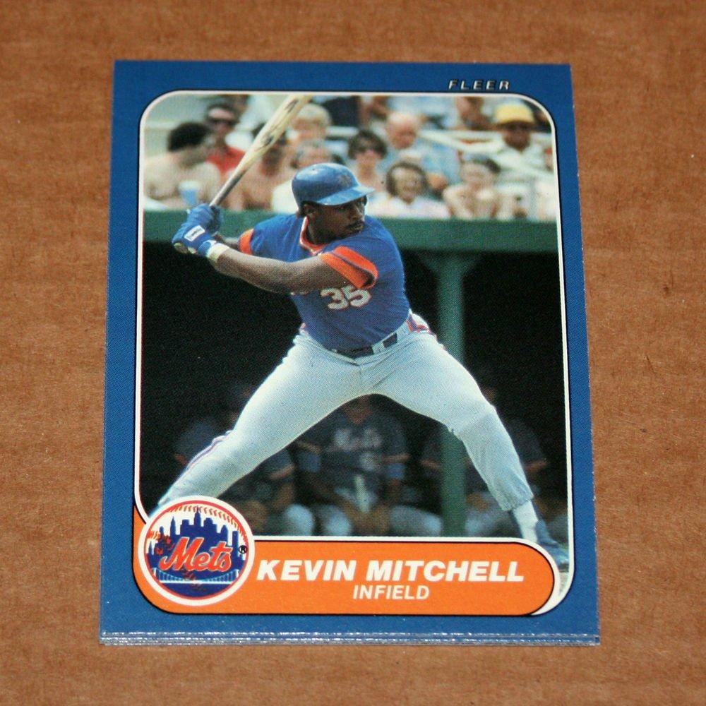 1986 FLEER BASEBALL - New York Mets Team Set (Update Series Only)