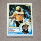 1983 TOPPS BASEBALL - Pittsburgh Pirates Team Set + Traded Series
