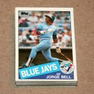 1985 TOPPS BASEBALL - Toronto Blue Jays Team Set + Traded Series
