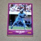 1988 SCORE BASEBALL - Toronto Blue Jays Team Set + Rookie & Traded Series