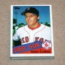 1985 TOPPS BASEBALL - Boston Red Sox Team Set + Traded Series
