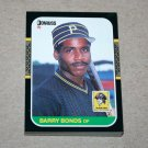 1987 DONRUSS BASEBALL - Pittsburgh Pirates Team Set