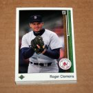 1989 UPPER DECK BASEBALL - Boston Red Sox Team Set + High Number Series
