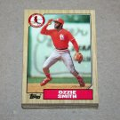 1987 TOPPS BASEBALL - St. Louis Cardinals Team Set + Traded Series