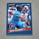 1986 DONRUSS BASEBALL - Philadelphia Phillies Team Set