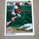1990 UPPER DECK BASEBALL - St. Louis Cardinals Team Set + High Number Series