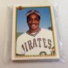 1990 BOWMAN BASEBALL - Pittsburgh Pirates Team Set