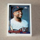 1992 TOPPS BASEBALL - Minnesota Twins Team Set + Traded Series