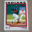 2004 TOPPS BASEBALL - Cleveland Indians Team Set (Series 1 & 2)