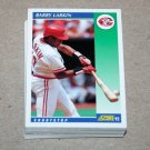 1992 SCORE BASEBALL - Cincinnati Reds Team Set + Rookie & Traded Series
