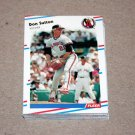 1988 FLEER BASEBALL - California Angels Team Set
