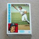 1984 TOPPS BASEBALL - Milwaukee Brewers Team Set + Traded Series