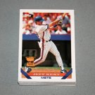 1993 TOPPS BASEBALL - New York Mets True Team Set with Traded Series