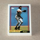 1992 TOPPS BASEBALL - Pittsburgh Pirates Team Set + Traded Series