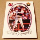 1986 SMOKEY BEAR BASEBALL - California Angels Team Set