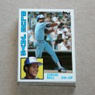 1984 TOPPS BASEBALL - Toronto Blue Jays Team Set + Traded Series