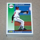 1992 SCORE BASEBALL - Atlanta Braves Team Set + Rookie & Traded Series