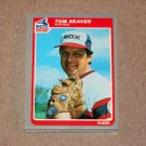 1985 FLEER BASEBALL - Chicago White Sox Team Set + Update Series