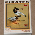 2004 TOPPS BASEBALL - Pittsburgh Pirates Team Set (Series 1 & 2)