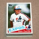 1985 TOPPS BASEBALL - Montreal Expos Team Set + Traded Series