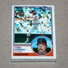 1983 TOPPS BASEBALL - Cleveland Indians Team Set + Traded Series