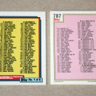 1992 TOPPS BASEBALL - Checklist Set + Traded Series