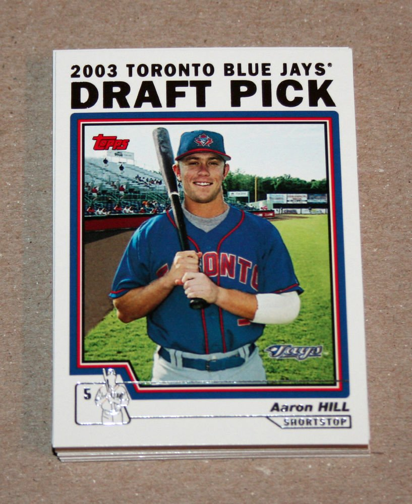 2004 TOPPS BASEBALL - Toronto Blue Jays Team Set (Series 1 & 2)