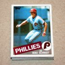 1985 TOPPS BASEBALL - Philadelphia Phillies Team Set + Traded Series