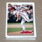 1992 UPPER DECK BASEBALL - Philadelphia Phillies Team Set + High Number Series