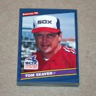 1986 DONRUSS BASEBALL - Chicago White Sox Team Set
