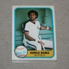 1981 FLEER BASEBALL - Chicago White Sox Team Set