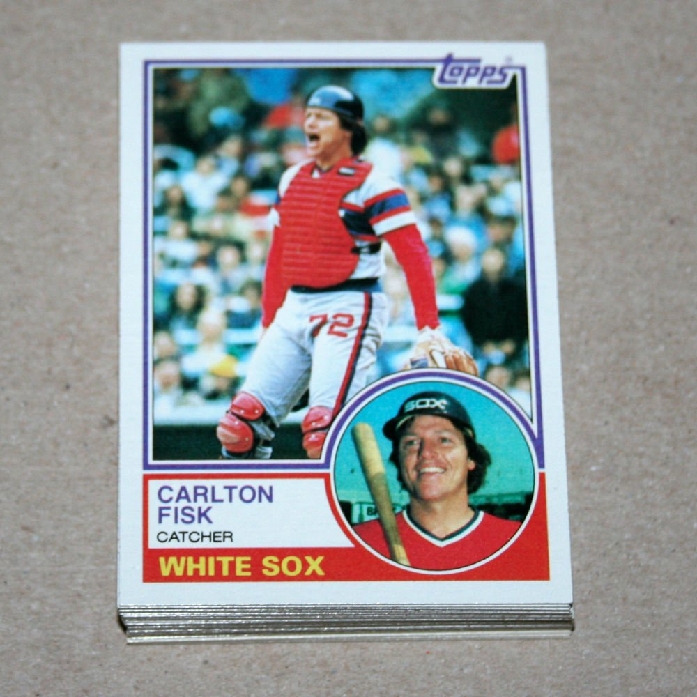 1983 TOPPS BASEBALL - Chicago White Sox Team Set + Traded Series