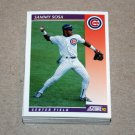 1992 SCORE BASEBALL - Chicago Cubs Team Set + Rookie & Traded Series