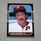 1987 DONRUSS BASEBALL - Philadelphia Phillies Team Set