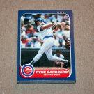 1986 FLEER BASEBALL - Chicago Cubs Team Set + Update Series