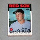 1986 TOPPS BASEBALL - Boston Red Sox Team Set + Traded Series